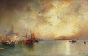 Thomas Moran - View Of Venice 3