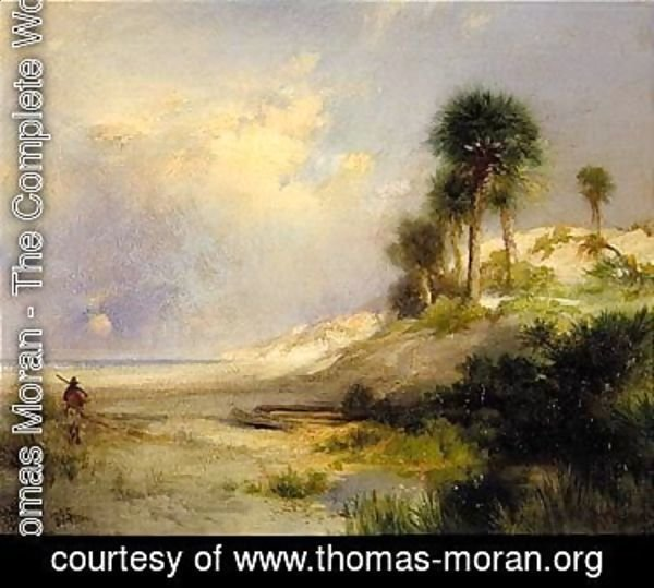 Thomas Moran - Fort St. George Island, Florida 1892