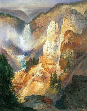 Thomas Moran - Grand Canyon of the Yellowstone, 1893