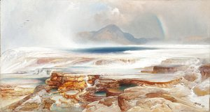 Thomas Moran - Hot Springs of the Yellowstone