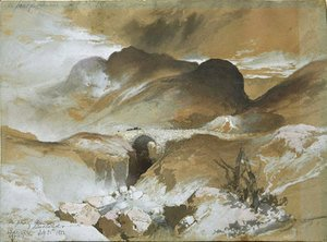 Thomas Moran - The Pass at Glencoe, Scotland