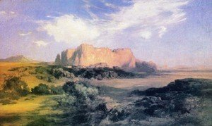 Thomas Moran - LaRita, New Mexico