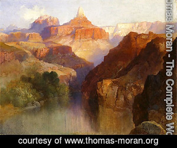 Thomas Moran - Zoroaster Peak (Grand Canyon, Arizona), 1918