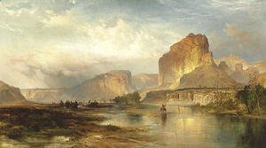 Thomas Moran - Cliffs of Green River