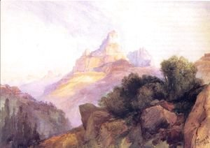 Thomas Moran - Cathedral Rock1902
