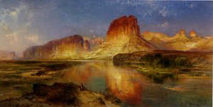 Thomas Moran - Green River of Wyoming