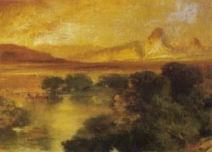 Thomas Moran - Green River 1899
