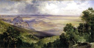 Thomas Moran - Valley of Cuernavaca