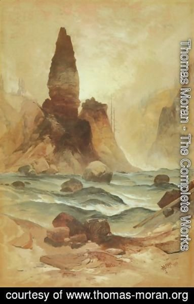 Thomas Moran - Arrowhead Rock