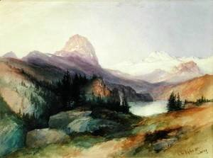 Thomas Moran - bighorn_mountains