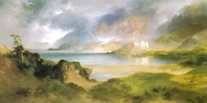 Thomas Moran - The Stronghold 1920