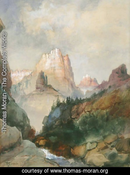 Thomas Moran - Canyon View