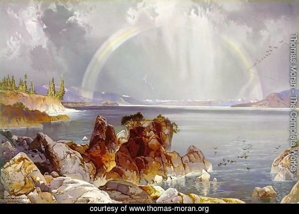 Yellowstone Lake, 1875