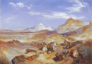 Thomas Moran - Petrified Forest 1907
