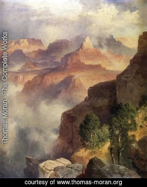 Thomas Moran - Grand Canyon of the Colorado River-1
