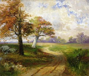Thomas Moran - Autumn Scene, 1902