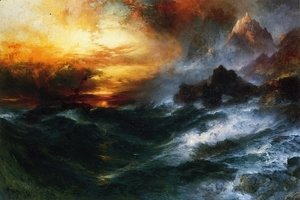 Thomas Moran - A Mountain of Loadstone