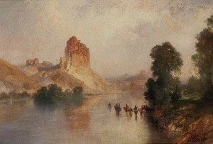 Thomas Moran - Domes of the Green River