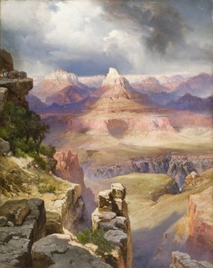 Thomas Moran - The Grand Canyon, 1909