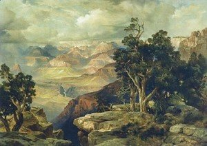 Thomas Moran - The Grand Canyon 1912