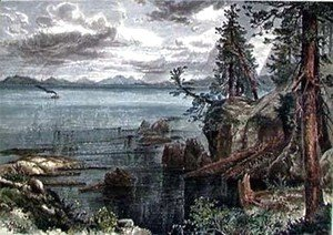 Thomas Moran - Lake Tahoe 1873