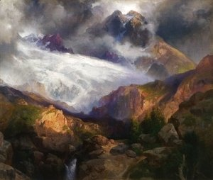 Thomas Moran - The Eternal Snows of Mt. Moran