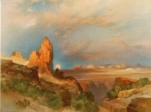 Thomas Moran - Lure of the Desert 1919