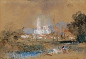 Thomas Moran - Maravatio in Old Mexico