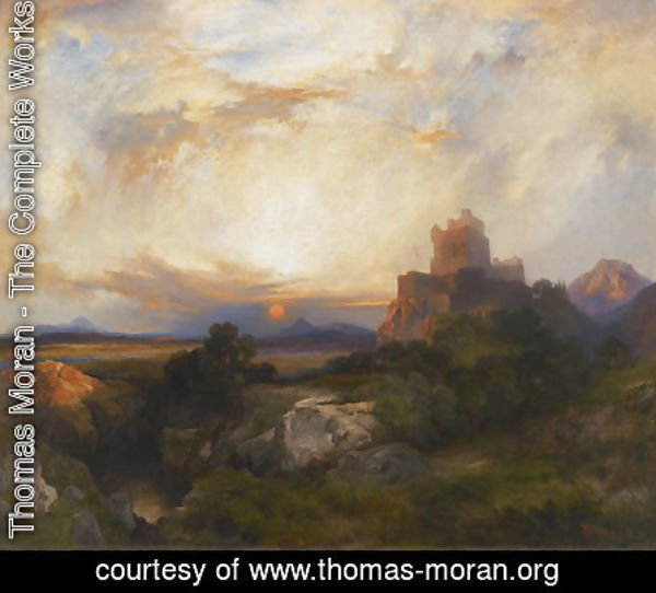 Thomas Moran - Bluebeard's Castle, 1915