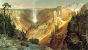 Thomas Moran - The Grand Canyon of the Yellowstone 3