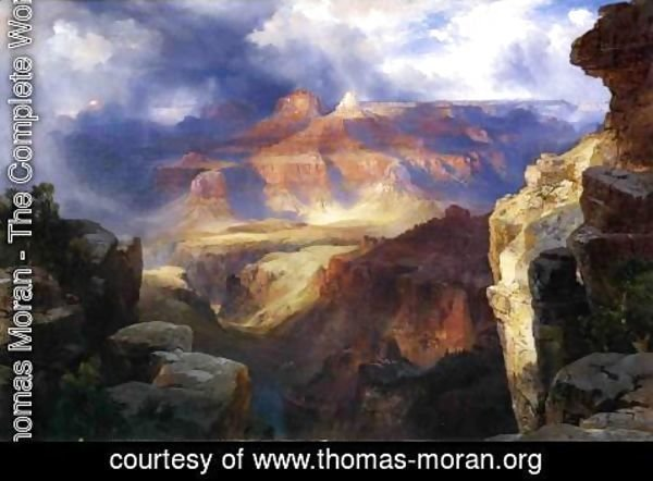Thomas Moran - A Miracle Of Nature