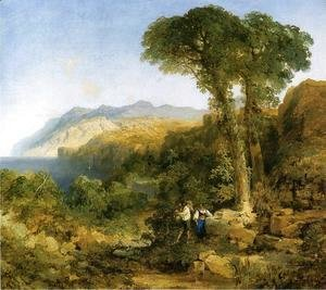 Thomas Moran - Amalfi Coast