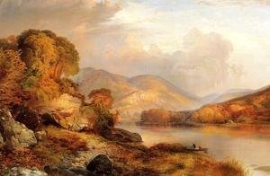 Thomas Moran - Autumn Landscape