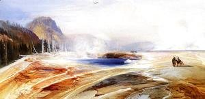 Thomas Moran - Big Springs In Yellowstone Park
