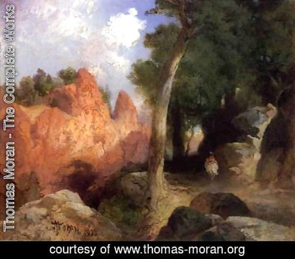 Thomas Moran - Canyon Of The Clouds