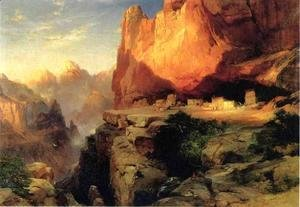 Thomas Moran - Cliff Dwellers