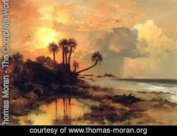 Thomas Moran - Fort George Island2