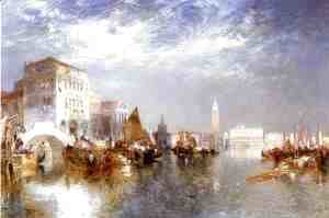 Thomas Moran - Glorious Venice