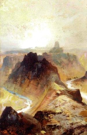 Thomas Moran - Grand Canyon  Utah