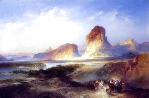 Thomas Moran - Green River  Wyoming