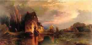 Thomas Moran - Haunted House