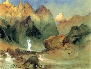 Thomas Moran - In The Lava Beds
