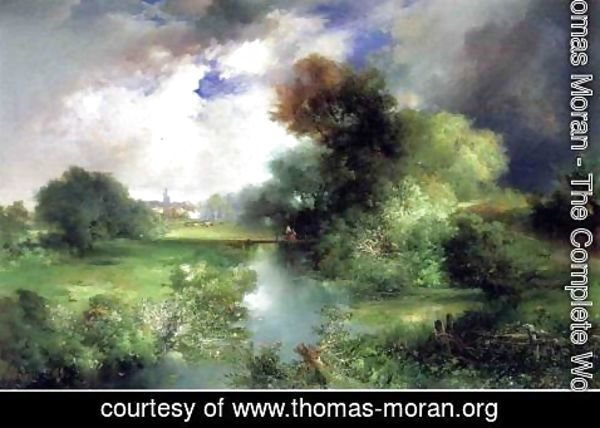Thomas Moran - June  East Hampton