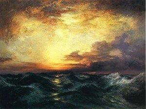 Thomas Moran - Pacific Sunset