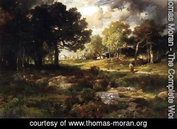 Thomas Moran - Romantic Landscape