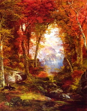 The Autumnal Woods (Under The Trees)