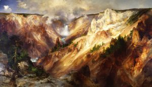 Thomas Moran - The Grand Canyon Of The Yellowstone