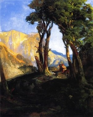 Thomas Moran - The Sacrifice Of Isaac