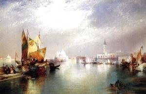 Thomas Moran - The Splendor Of Venice