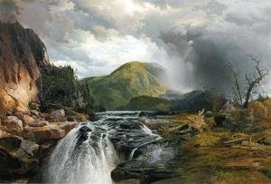 Thomas Moran - The Wilds Of Lake Superior